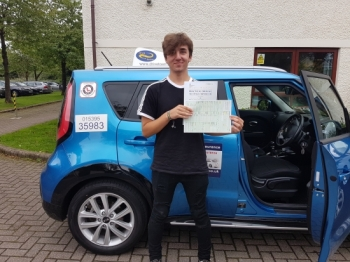 A big well done to Josh for passing his test today, a great drive. Enjoy your new freedom and thanks for choosing Drive to Arrive.