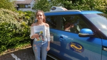 A massive well done to Jess who passed her test today first time. Congratulations and safe driving. Thanks for choosing Drive to Arrive.